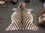 Lot 700 - Zebra skin rug 205 X 110 cm
