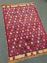 Lot 704 - Vintage Moroccan rug circa 1930s 1.50 X 0.96m