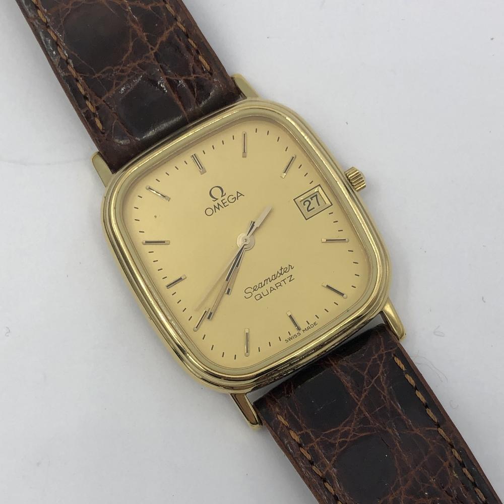 Lot 38 - Omega seamaster quartz wristwatch