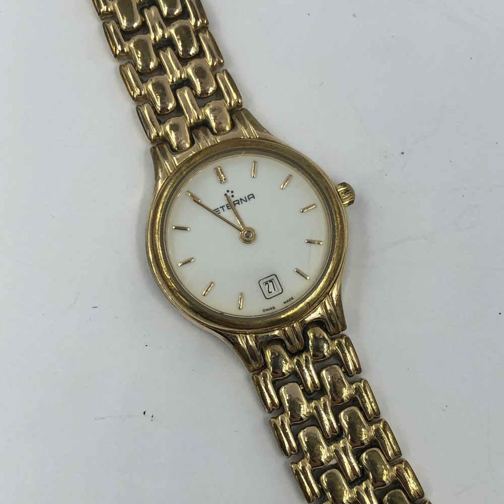 Lot 37 - Yellow metal ladies Rotary wristwatch