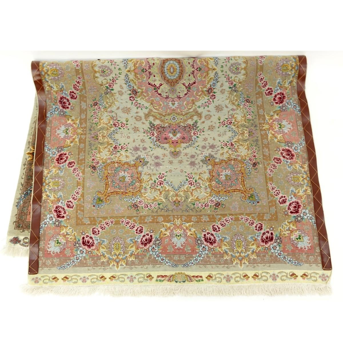 Lot 70 - Antique Persian Tabriz Benam Rug