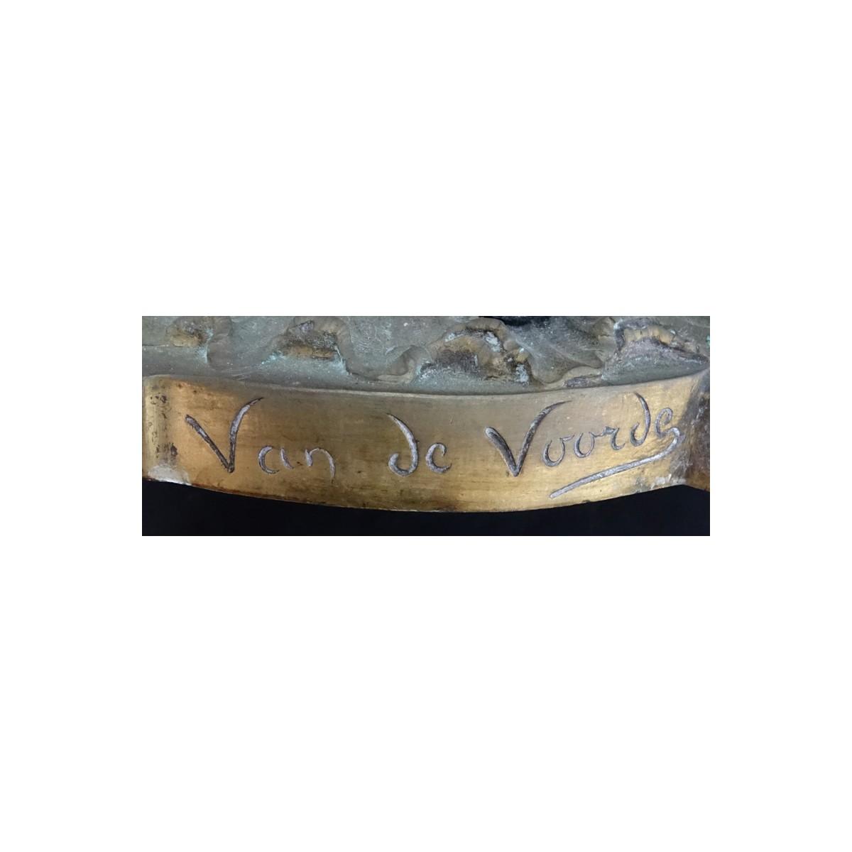 Lot 315 - Pair of Georges Van de Voorde, Dutch (1878-1970) A