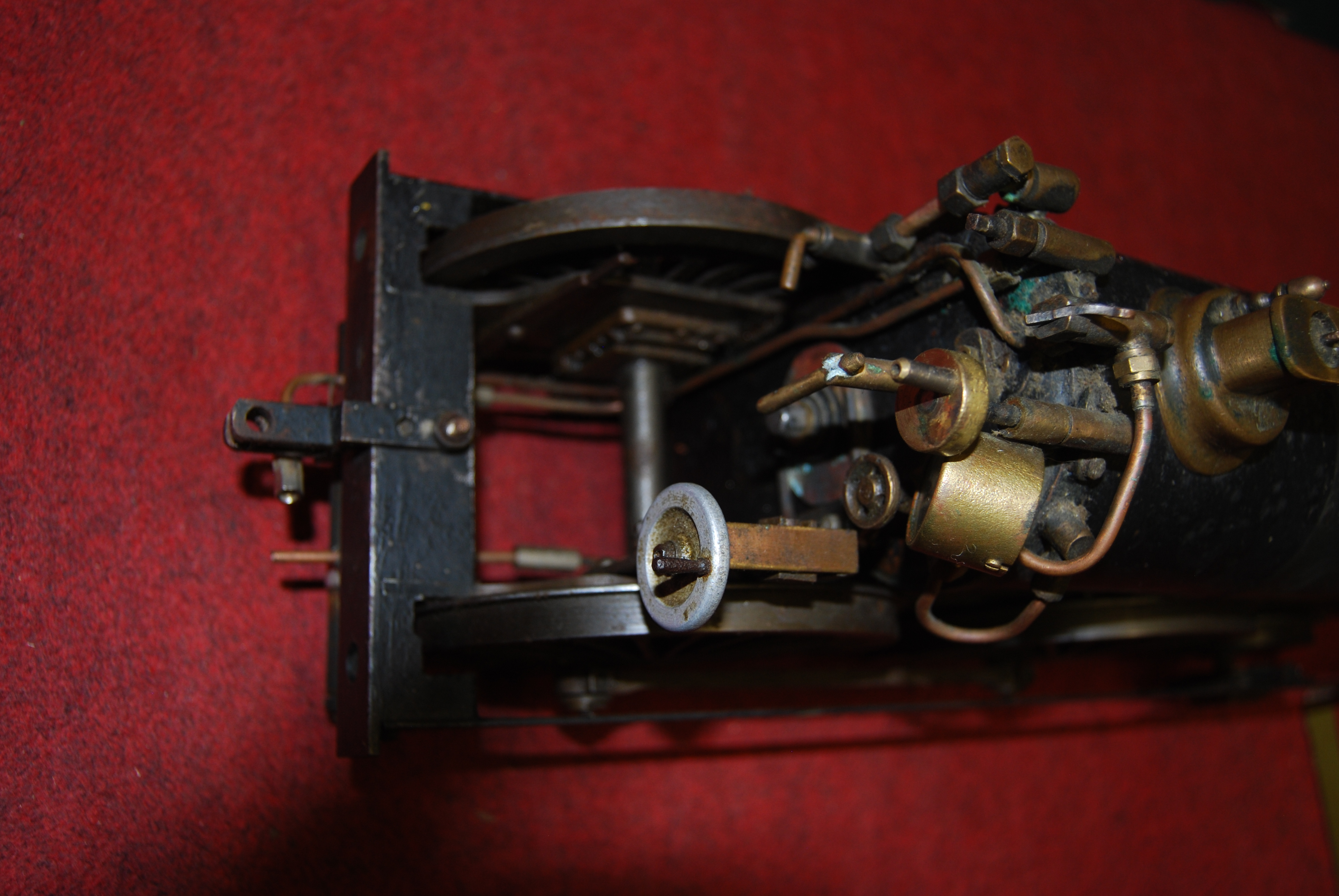"""Lot 33 - A 3½"""" gauge live steam Great Eastern Railway outline 2-4-0 locomotive and six wheel tender, part"""