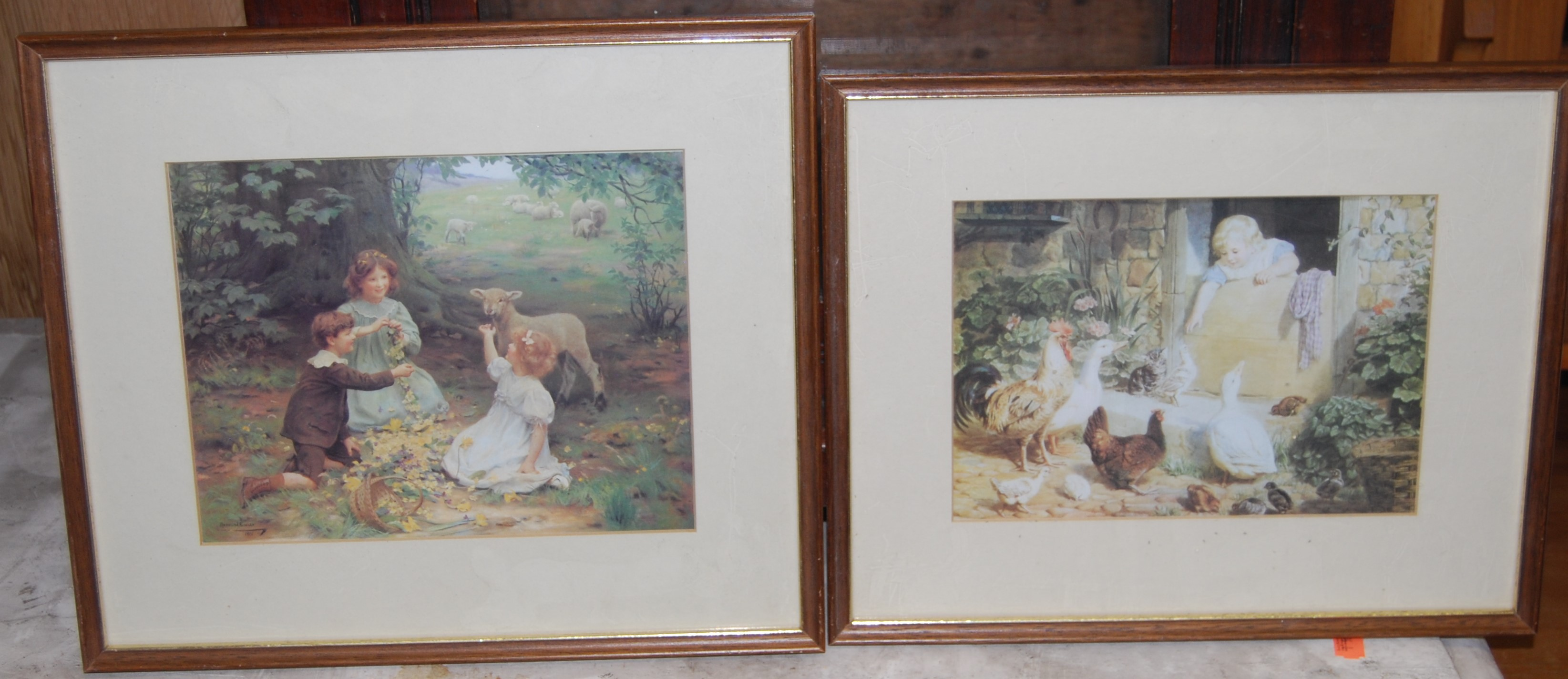 Lot 1045 - Assorted prints, to include engraving of Rear Admiral Lord Nelson, and other modern examples