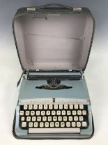 Lot 52 - A Brother De-Luxe portable typewriter
