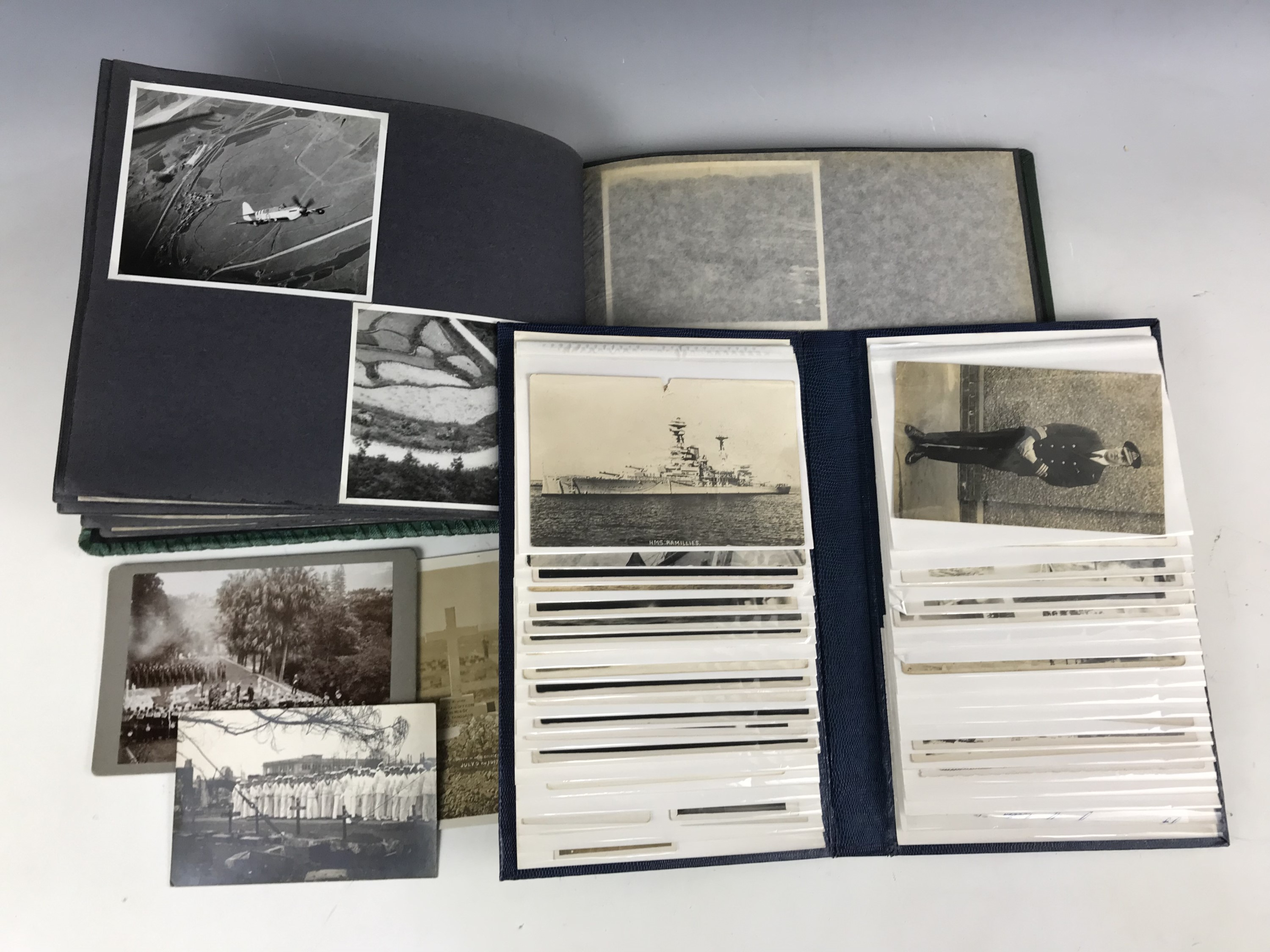 Lot 56 - A quantity of postcards depicting naval subjects