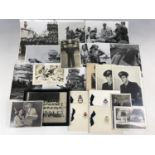 Lot 39 - A quantity of largely First and Second World War official and other photographs etc pertaining to