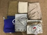Lot 57 - A quantity of Royal Navy hammocks and personal kit