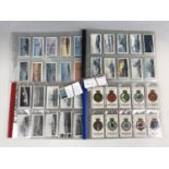 Lot 55 - A quantity of Royal Navy themed cigarette cards etc