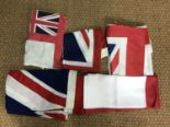 Lot 62 - Various flags and ensigns