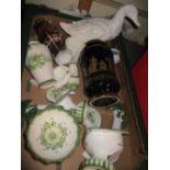 Lot 457 - Quantity of miscellaneous decorative ceramics and glass