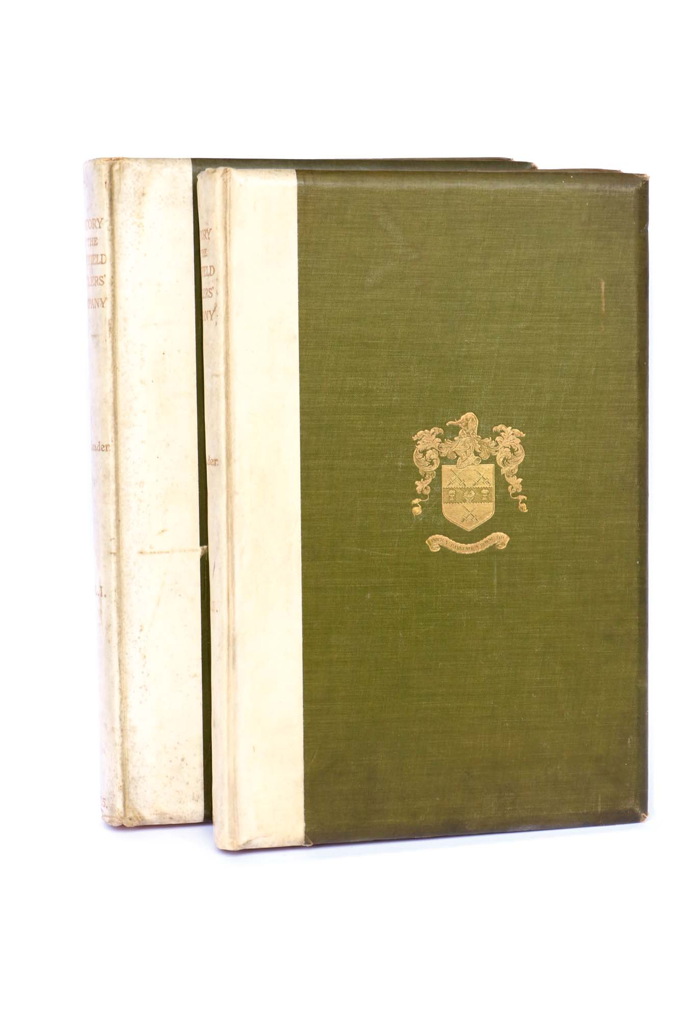 Lot 19 - Leader, R.E: History of the Company of Cutlers in Hallamshire, Vols I & II with cloth boards &