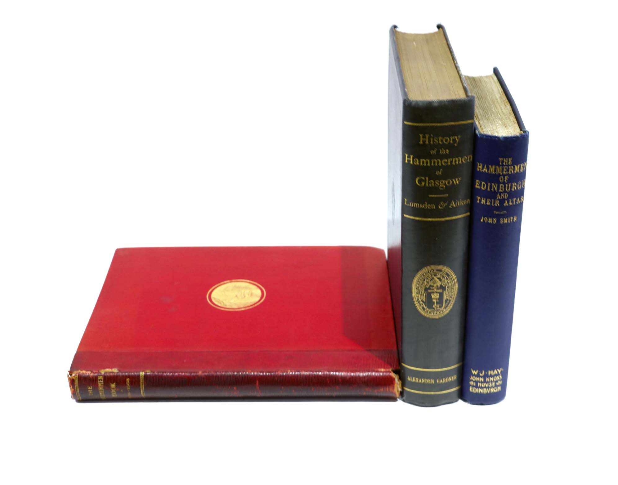 Lot 44 - Various:- Hunt, Colin A: The Perth Hammermen Book (1518-1568), printed Perth 1889, Lumsden & Aitken: