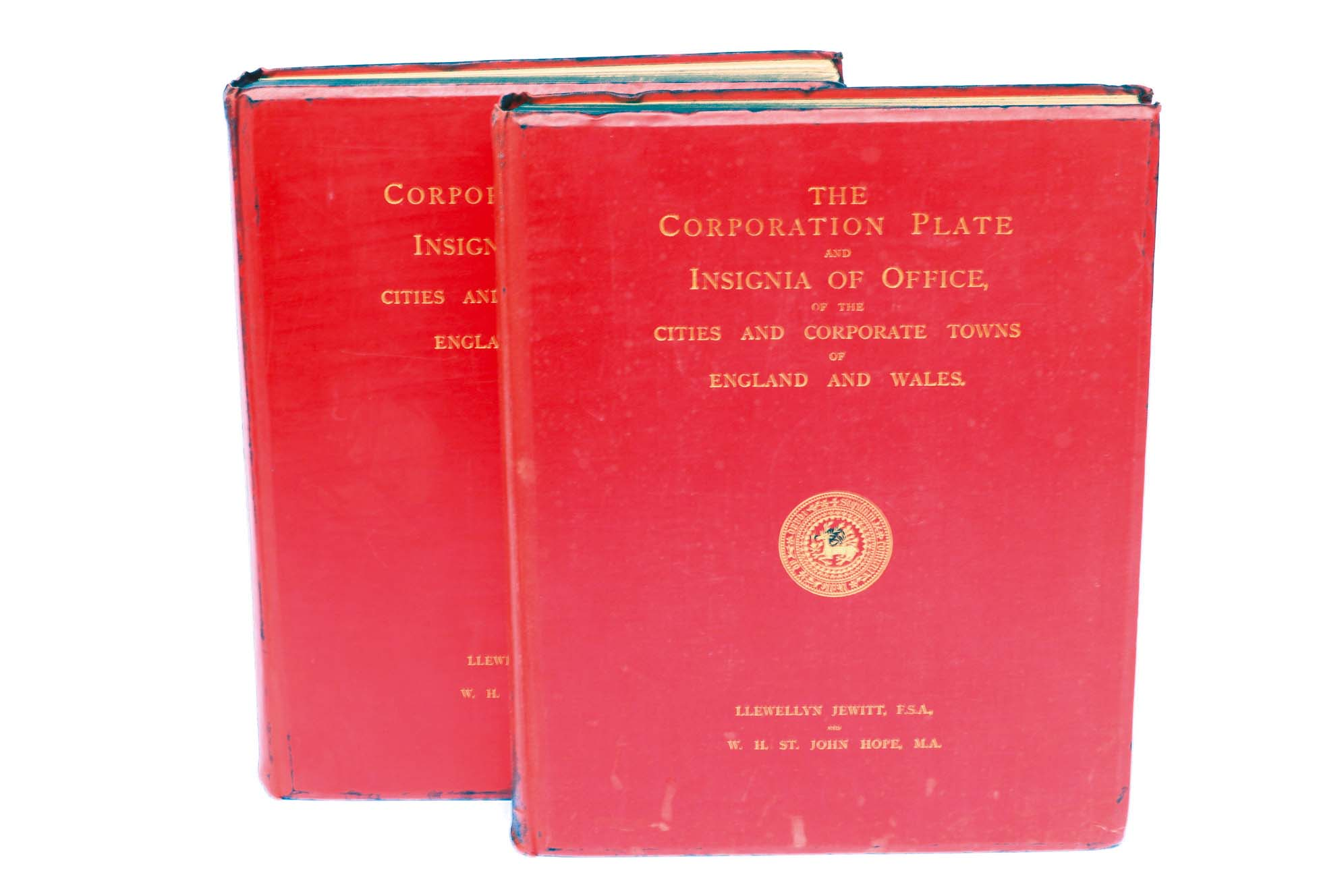 Lot 49 - CORPORATIONS Hope, W.H. St.John and Jewitt, L: The Corporation Plate & Insignia of the Office of the