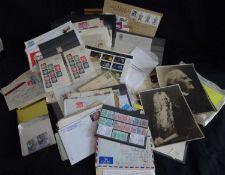 Schönes Lot Philatelie alle Welt, dabei viele Briefe, Karten, etc. Auch bessere. Stöberkiste -