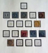 Bayern, Lindner Vordruckblätter mit ca. 200 Briefmarken bestückt. Bitte besichtigen.Bavaria, Lindner