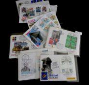 Bundesrepublik Deutschland - Ausstellungsbriefe, 1997/2001, Lot von 63 Briefen, meist mit
