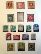 Berlin Sammlung, postfrisch 1955-1972, bis auf unbedeutende Marken komplett im SAFE Vordruckalbum.