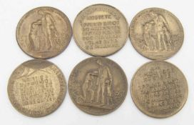 Lot Inflationsmedaillen. .Lot inflation medals. Please visit ..