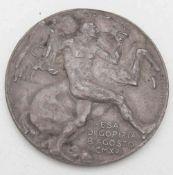 Italien 1916, Medaille von B. Castellucci zur Einnahme von Gorizia am 8. August. Zwölf Zeilen