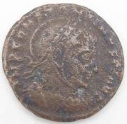 Römische Kaiserzeit Follis, Constantinus I.. Erhaltung: ss.Roman Empire Follis, Constantinus I ..
