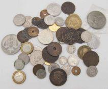 Lot Münzen aus aller Welt. Lot of coins from around the world. Please visit.