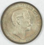 Medaille Deutschland 1888, Friedensreise Kaiser Wilhelm II. 1888, Kat.Nr. Marienbg. 6848, Bronze