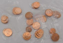 Lot 5, 2 und 1 Euro Cent - Münzen bestehend aus: Österreich 2002, Belgien 1999, Finnland 2000,
