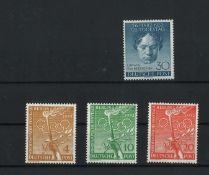 BRD Berlin, 1952, MI 87 / 88-90, Vorolymp. Festtage, postfrischBerlin, 1952, MI 87 / 88-90,