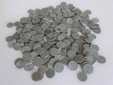Lot Münzen, Deutsches Reich, bestehend aus 1 und 5 Pfennig Münzen, Zinn, verschiedene Jahrgänge,