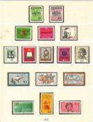 BRD Bund, Sammlung 1970-1979 postfrisch. Komplett, T-Lindner Vordruckalben. Bitte besichtigen.