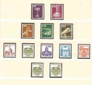 BRD, postfrische Sammlung, von 1980 - 1993, komplett, besammelt auf T-Lindner-Vordruckblätter,