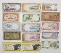 Vietnam, Konvolut Banknoten, teilweise unzirkuliert. Sicher eine Fundgrube. Bitte besichtigen.