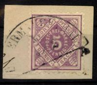 Briefmarke, Württemberg, gepr. Winkler, Untermarchtal, steltener StempelStamp, Württemberg,
