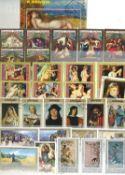 Briefmarkenalben alle Welt , überwiegend mit BRD, Berlin und DDR, zzgl. Vordruckblätter mit Berliner
