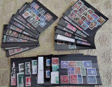DDR, kleines Lot Steckkarten, dabei auch bessere! Bitte besichtigen!DDR, small lot of stock cards,