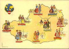 Österreich 1946, FDC Zur Förderung der Wirtschaftsbeziehungen zur Sowjetunion.Auf seltener