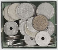 Norway / Denmark, Lot of coins. Please visit.