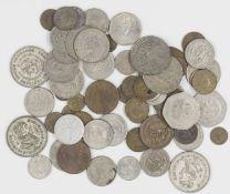 Mexico, Lot of coins, different vintages. Please visit.
