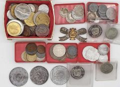 Lot coins and medals Europe, as well Germany Empire to Germany. Please visit.