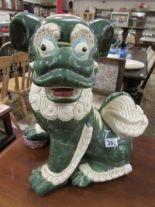 Lot 306 - Large ceramic Dog of Fu
