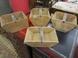Lot 290 - Wooden pickers boxes