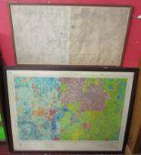 Lot 214 - 2 maps