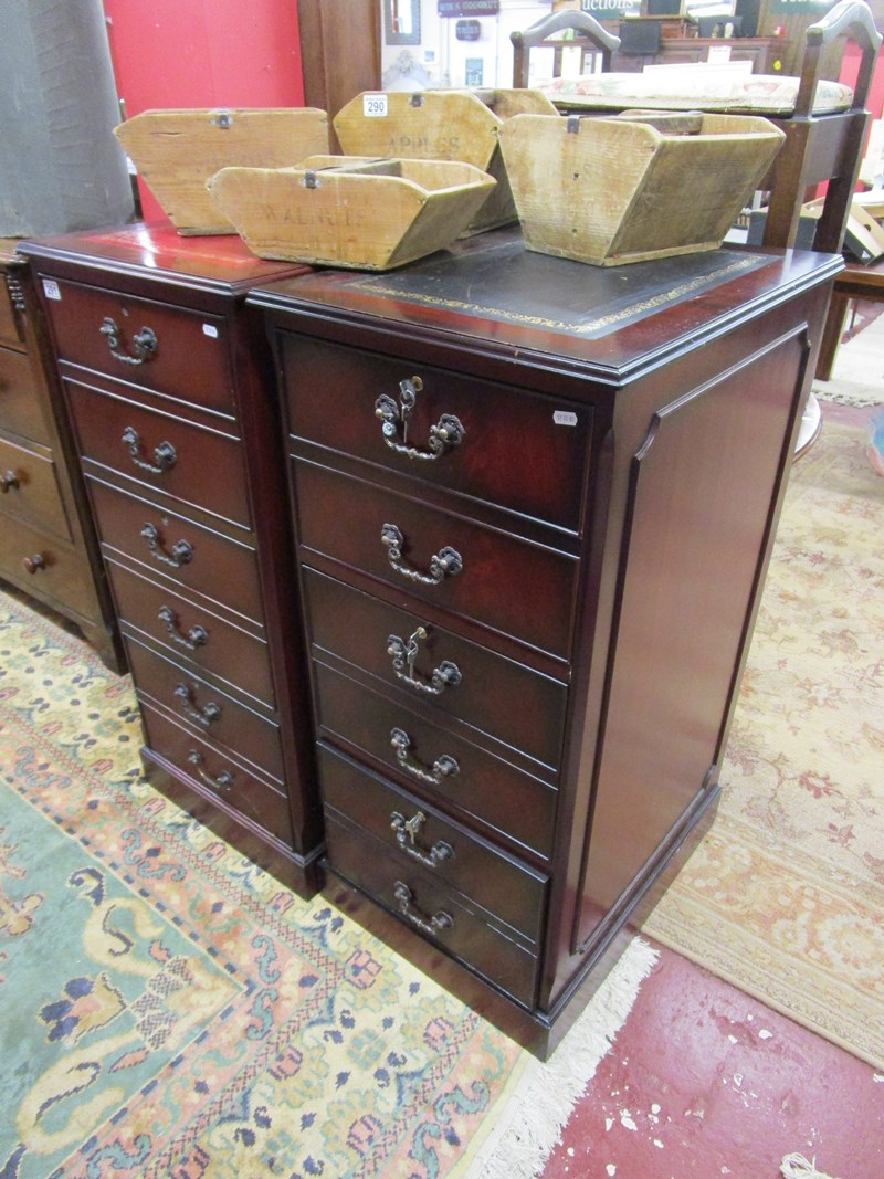Lot 291 - 2 filing cabinets by Shaw of London