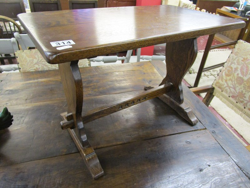 Lot 314 - Coffee table by Webber