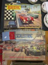 Lot 176 - 2 early Scalextric sets