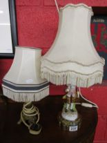 Lot 231 - 2 table lamps