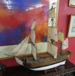 Lot 267 - Model galleon