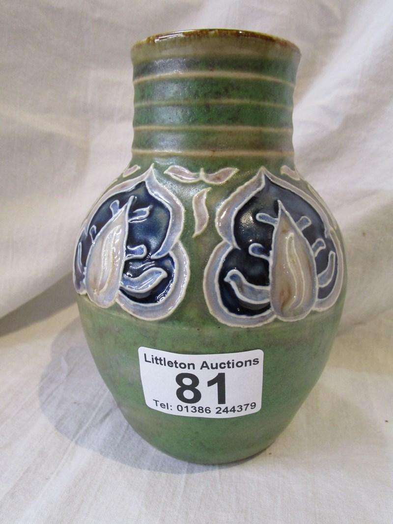 Lot 81 - Royal Doulton vase by Florrie Jones 1932