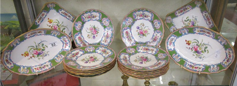 Lot 93 - Part dinner service by Spode